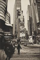 Times Square Snow by Riddlez46