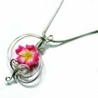 Wire Wrap Perfume Pendant 15 by Create-A-Pendant