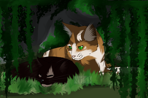 Patchstar and Deathpaw by Nixhil