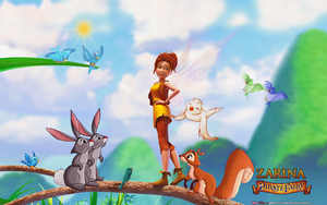 THE PIRATE FAIRY: ZARINA and FOREST CREATURES by CSuk-1T
