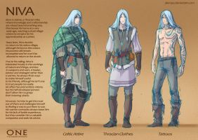 Niva - Character Sheet by alempe