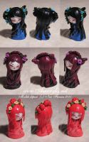 Kokeshi fimo 7 by Nailyce