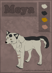 Character Sheet no. 1_Meya (Remake-1) by Sally-Ce
