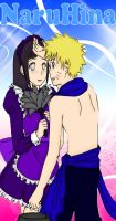 NaruHina :Blush by RedxMochi