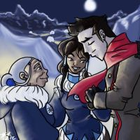 Legend of Korra- Back to the South Pole by BlackInkHeart