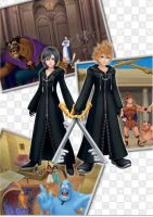 KH 358-2 Days - Xion and Roxas by Scorpius02