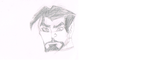 The Avengers EMH Tony Stark Sketch by KombatMaster94
