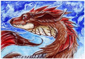 ACEO_SilveryNova by Kyuubreon