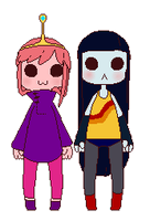Bouncing bubbline chibis by Rontra