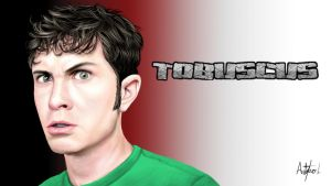 Tobuscus Painting by arthurforzus