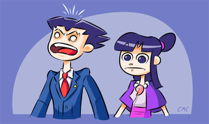 Phoenix Wright: Attorney at Dumb by Blade-zulah