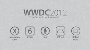 WWDC 2012 - There's A Lot To Look Forward To by theIntensePlayer