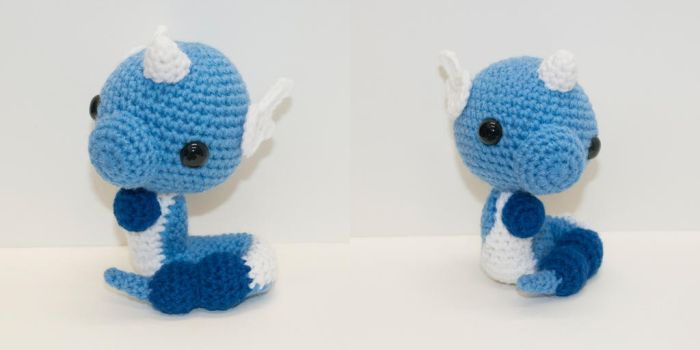 Dragonair by Heartstringcrochet