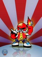 bomberman flames by Club-Vector