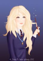 Luna Lovegood by Avelynnn
