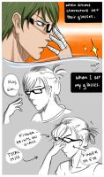 Real Life Glasses by HareSoup