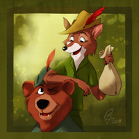 Robin Hood by sycamoreleaf