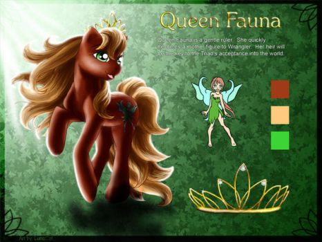 Queen Fauna by FlyingPony