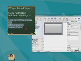XWidget Tutorial Video 1 by xwidgetsoft