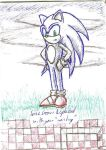 Hospital Doodle: Sonic by DarkOverord