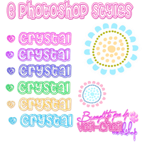 Photoshop Styles by iVANna25pink