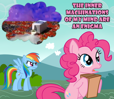 The Inner Machinations of my Mind are an Enigma by JackiePhantom13