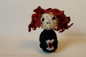 Black Widow Amigurumi by xAllion