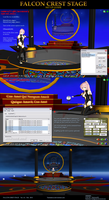 MMD Falcon Crest Stage instructions by Trackdancer