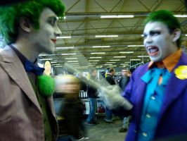 Joker VS Joker by Boredman