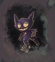 Sableye Used Hidden Power by LizardonEievui13