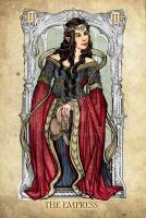 Tarot: The Empress by SceithAilm