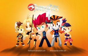 Thunder Thundercats OOOH by Thiefoworld