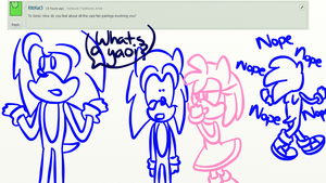 Ask/Dare Sonic Characters 6 by BobblyWack