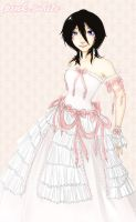 Rukia - pink+white by winterlotus