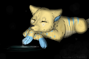 Art Trade - Sleepy. by Suicidal-Trouble