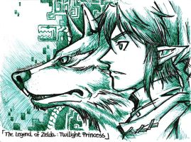 [Zelda TP] Two Dimensions by LetsongAkemi
