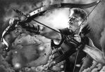 Hawkeye by marchesme