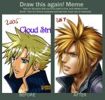 Draw This Again - Cloud 2005-2014 by Bayou-Kun