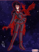Sailor Moon AU: Red Falcon by JennyMarionette