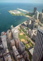 Lakefront and Navy Pier by kilroyart