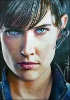 Maria Hill by DavidDeb