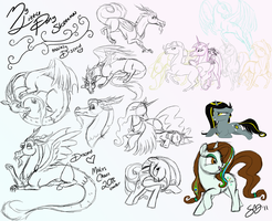 MLP Sketches by Famosity