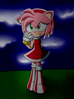 Amy Rose otra vez .w. by gederpop