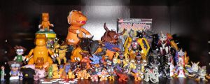 Agumon digivolution line by Kitamon