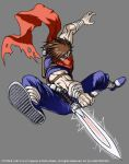 Strider Hiryu COLORS by etherealstudios2000