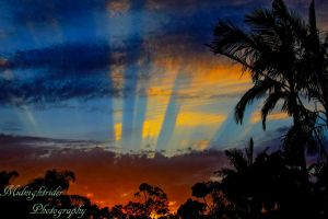 Tropical Sunset... by midnightrider79