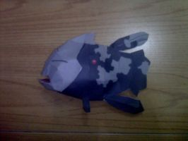 relicanth papercraft by turtwigcuTey