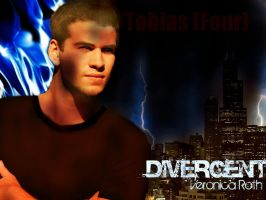 Divergent: Four -Tobias- by 4thElementGraphics