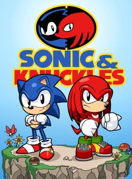 Sonic and Knuckles by rongs1234