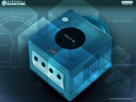 Gamecube Blue by thewoodenboy